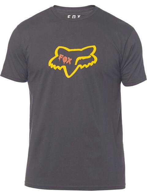 Fox Czar Head Premium T-Shirt Heren zwart